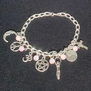 Jewelry - Rose Quartz Coexist Bracelet NWT